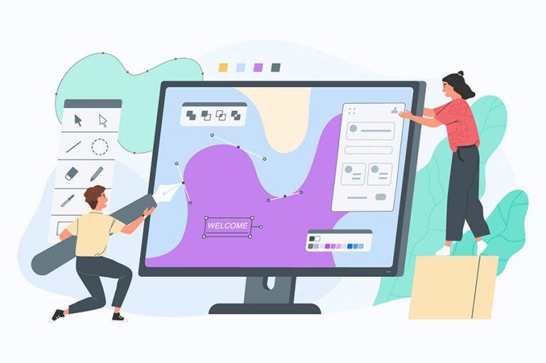 طراحی وب سایت و تعامل با کاربر