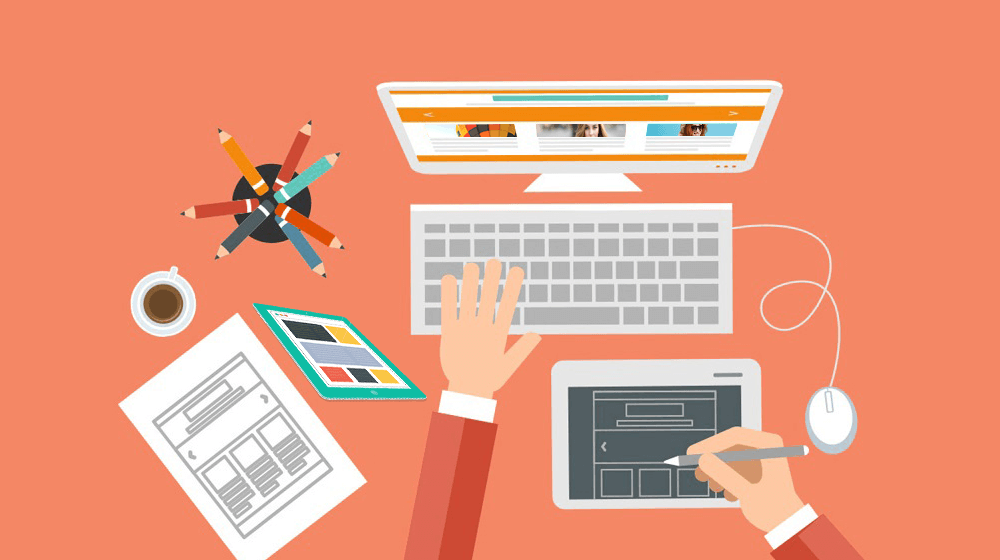 4 گرایش طراحی وب سایت